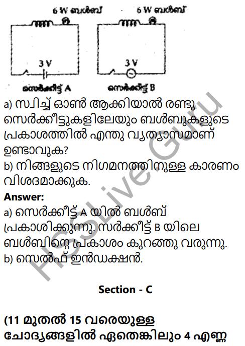 Kerala SSLC Physics Model Question Paper 4 Malayalam Medium 6