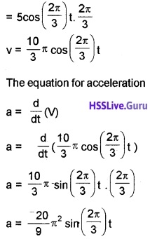 Plus One Physics Chapter Wise Questions and Answers Chapter 14 Oscillations - 24