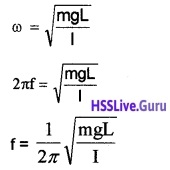 Plus One Physics Chapter Wise Questions and Answers Chapter 14 Oscillations - 32