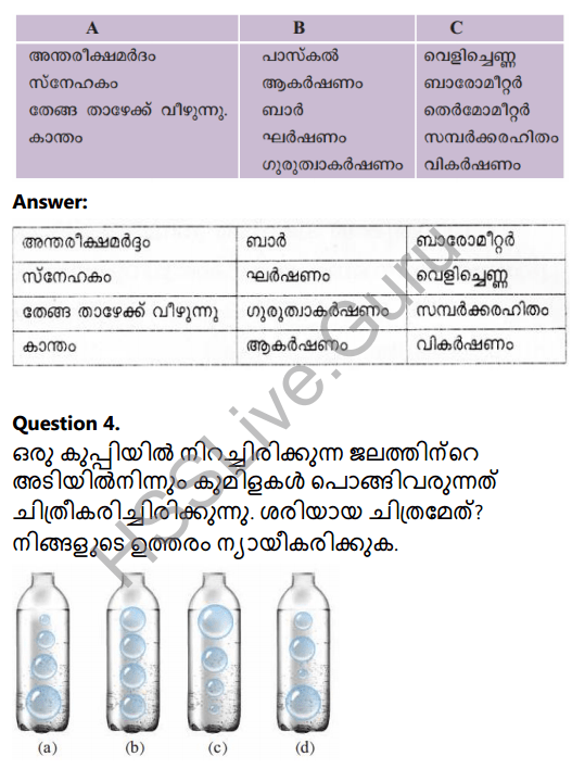 Kerala Syllabus 8th Standard Basic Science Solutions Chapter 10 Force in Malayalam 3