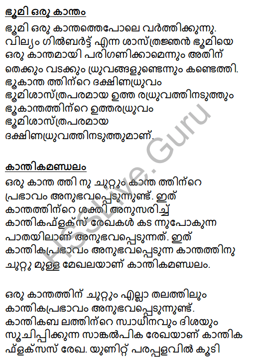 Kerala Syllabus 8th Standard Basic Science Solutions Chapter 11 Magnetism in Malayalam 17