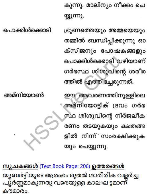 Kerala Syllabus 8th Standard Basic Science Solutions Chapter 14 For the Continuity of Generations in Malayalam 9