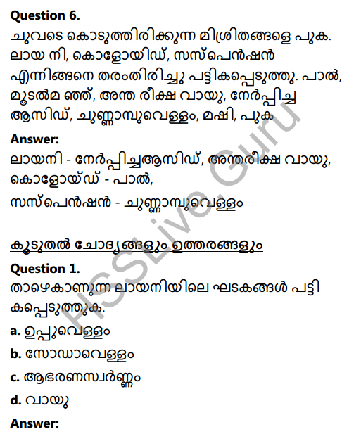 Kerala Syllabus 8th Standard Basic Science Solutions Chapter 15 Solutions in Malayalam 5