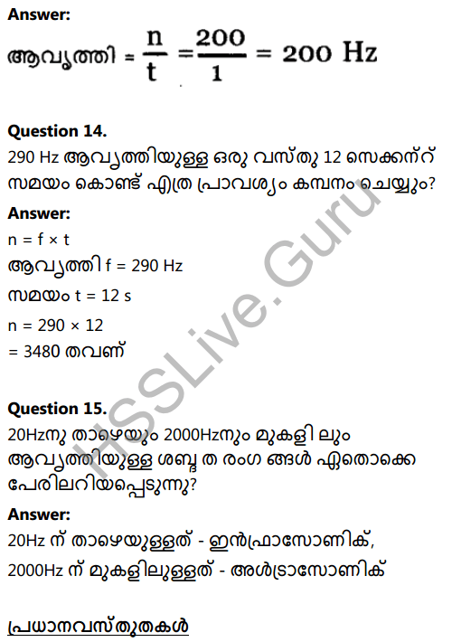 Kerala Syllabus 8th Standard Basic Science Solutions Chapter 19 Sound in Malayalam 11