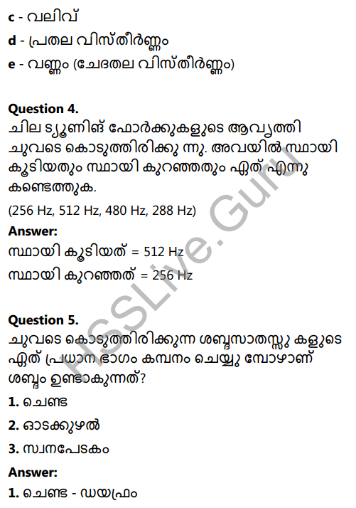 Kerala Syllabus 8th Standard Basic Science Solutions Chapter 19 Sound in Malayalam 2
