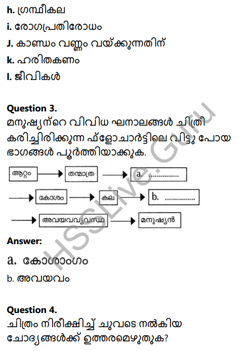 Kerala Syllabus 8th Standard Basic Science Solutions Chapter 2 Cell Clusters in Malayalam 16