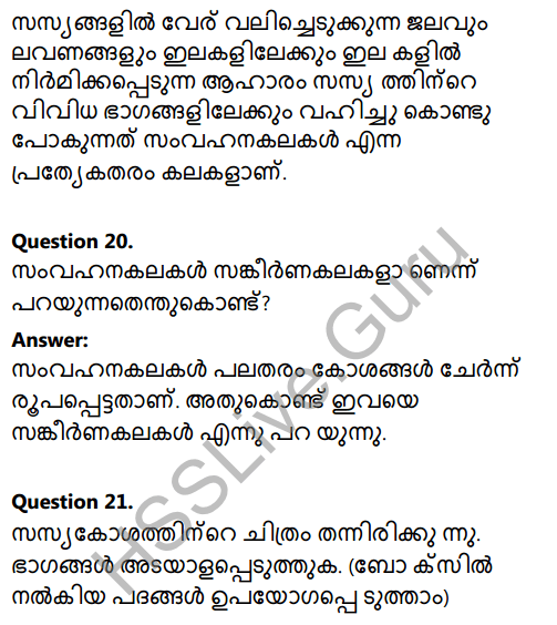 Kerala Syllabus 8th Standard Basic Science Solutions Chapter 2 Cell Clusters in Malayalam 27