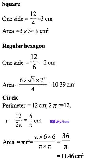 Kerala Syllabus 9th Standard Maths Solutions Chapter 9 Circle Measures 64