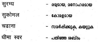 कुमुद फूल बेचनेवाली लडकी Summary in Malayalam 3