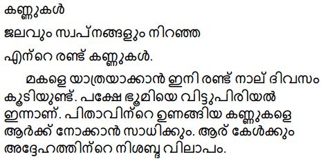 ज़मीन एक स्लेट का नाम है Summary in Malayalam 4