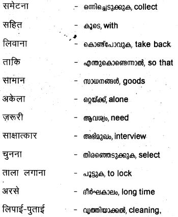 ज़मीन एक स्लेट का नाम है Summary in Malayalam 7