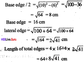 Kerala Syllabus 10th Standard Maths Solutions Chapter 8 Solids - 45