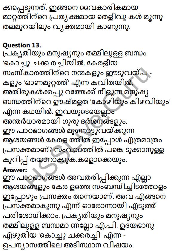 Kerala SSLC Malayalam Model Question Paper 3 (Adisthana Padavali) 15