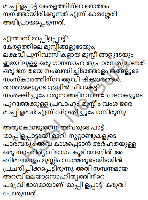 Mappilappattile Keraleeyatha Summary 4