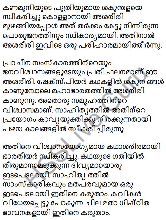 Plus Two Malayalam Textbook Answers Unit 1 Chapter 1 Kannadi Kanmolavum 15