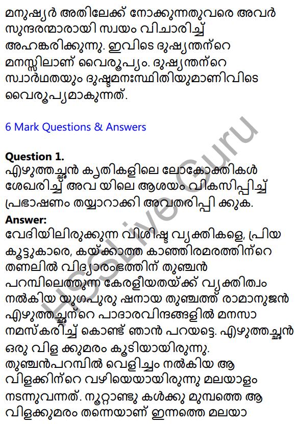 Plus Two Malayalam Textbook Answers Unit 1 Chapter 1 Kannadi Kanmolavum 20