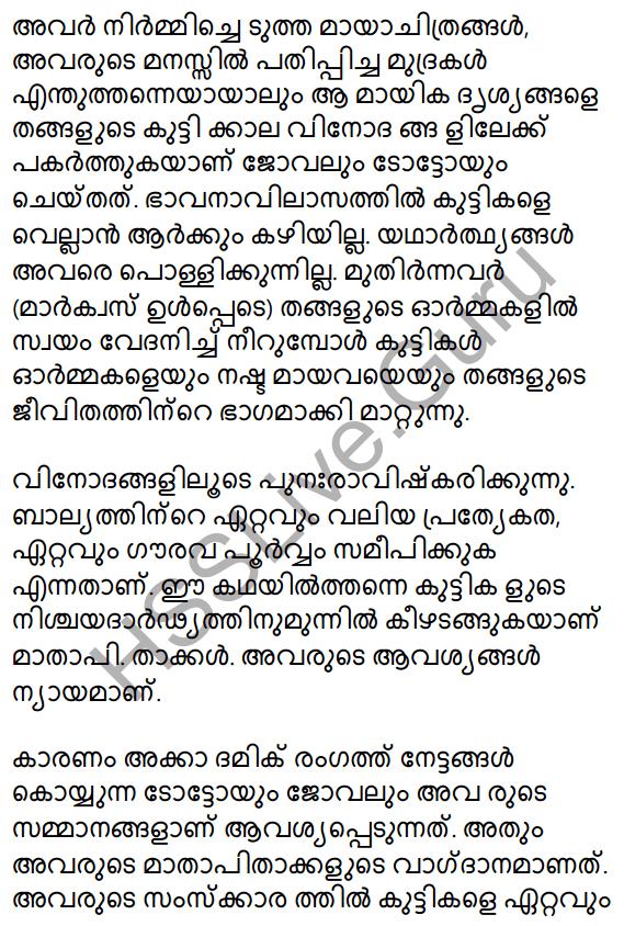 Plus Two Malayalam Textbook Answers Unit 1 Chapter 2 Prakasam Jalam Pole Anu 20