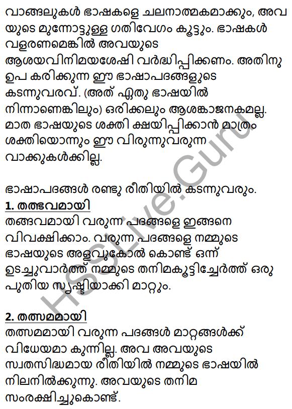 Plus Two Malayalam Textbook Answers Unit 1 Chapter 2 Prakasam Jalam Pole Anu 30