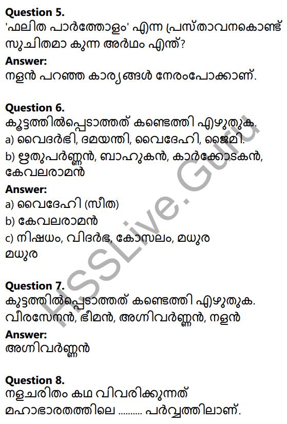 Plus Two Malayalam Textbook Answers Unit 2 Chapter 1 Keshini Mozhi 2