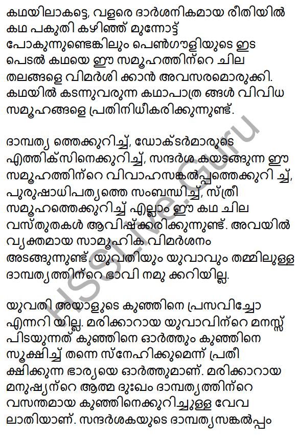 Plus Two Malayalam Textbook Answers Unit 3 Chapter 2 Gauli Janmam 67