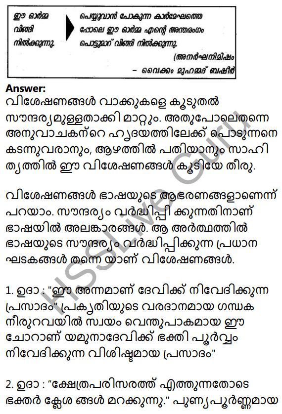 Plus Two Malayalam Textbook Answers Unit 3 Chapter 5 Yamunothriyude Ooshmalathayil 2