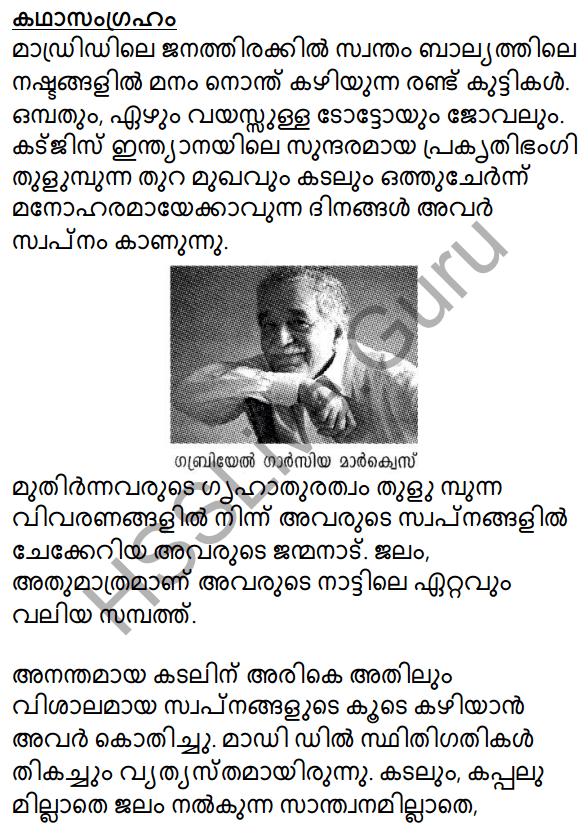 Prakasam Jalam Pole Anu Summary 1
