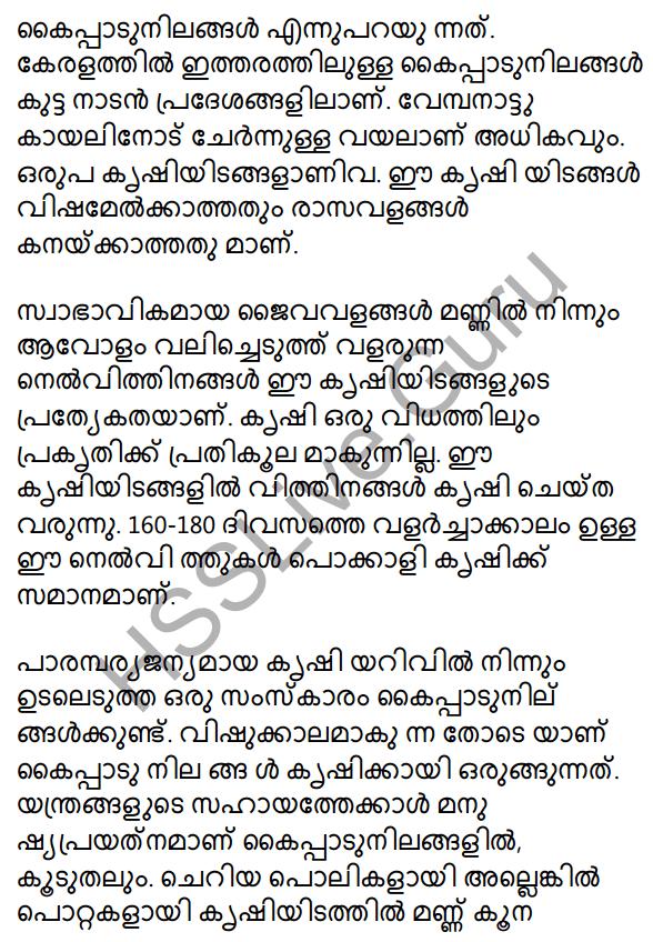 Plus One Malayalam Textbook Answers Unit 2 Chapter 4 Kaippad Kelkkunnundo 48
