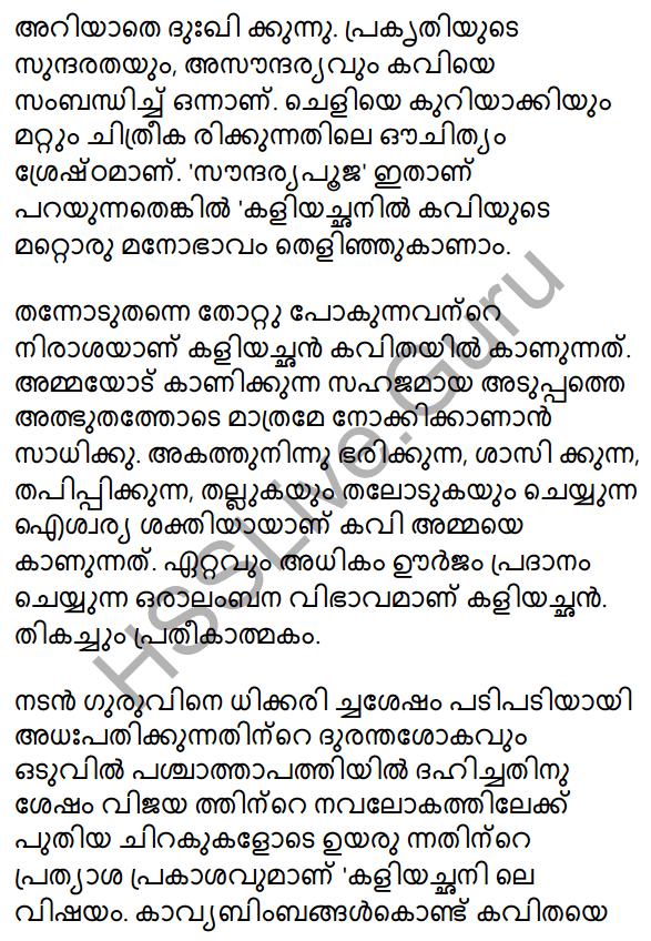 Plus One Malayalam Textbook Answers Unit 3 Chapter 1 Kavyakalaye Kurichu Chila Nireekshanangal 17