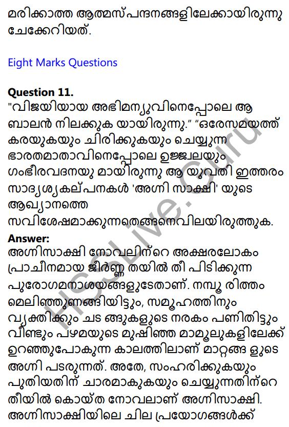 Plus One Malayalam Textbook Answers Unit 3 Chapter 4 Lathiyum Vediyundayum 30