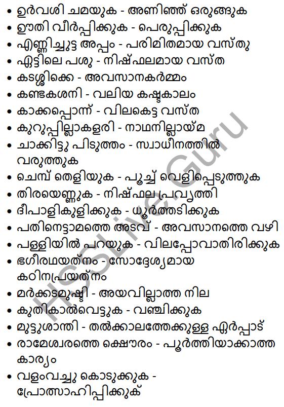 Plus One Malayalam Textbook Answers Unit 3 Chapter 4 Lathiyum Vediyundayum 79
