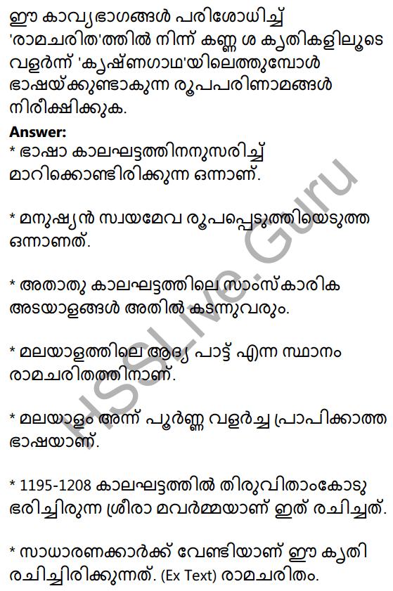 Plus One Malayalam Textbook Answers Unit 4 Chapter 1 Peeli Kannukal 23