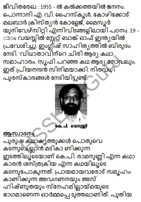 Shasthrakriya Summary 1