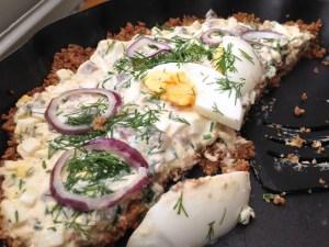 Matjestårta - Påskrecept från Hssons Skafferi