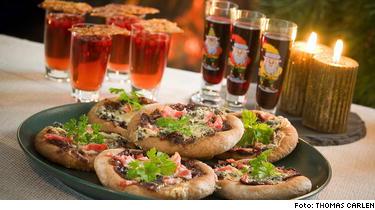 Pepparkakspizza - recept på Hssons skafferi