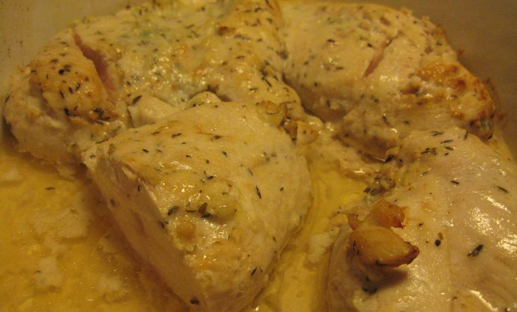 Vitlöksmarinerad kycklingfile recept på H:ssons Skafferi