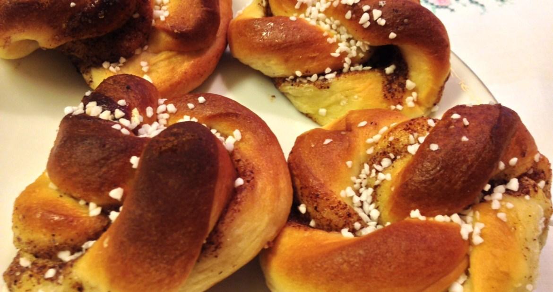 Kanelbullar - Recept från Hssons Skafferi