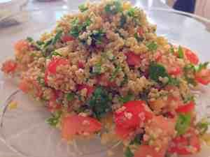 Tabbouleh - Recept ur Hssons Skafferi