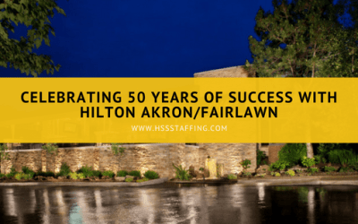 Celebrating 50 Years of Success with Hilton Akron Fairlawn