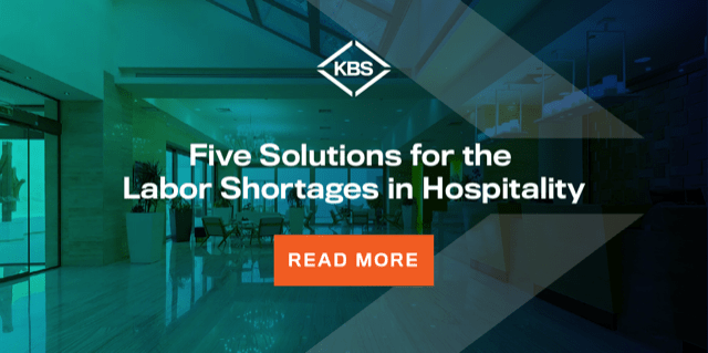 Five Solutions for Labor Shortages in Hospitality