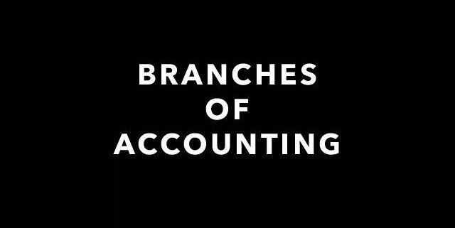 Accounting Branches