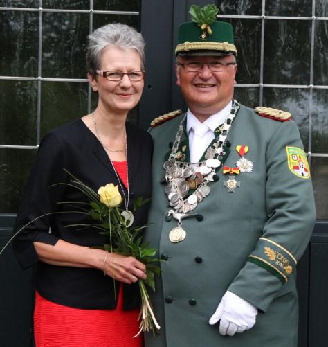 Königspaar Gerald und Helga Rüngeler