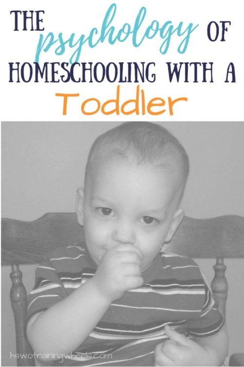 Homeschooling is hard work. Multiply that by the number of toddlers tagging along for the journey. How do you get your head in the game for this task?