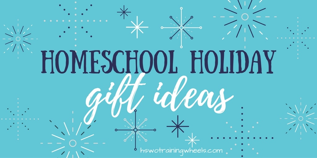 A collection of posts on resources and ideas for gifts to enhance the homeschool education environment for kids and families.