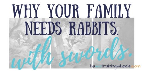Struggle. Loss. Growth. Hope. Find out why this series just might be your family's next favorite. Plus, there are rabbits. With swords!
