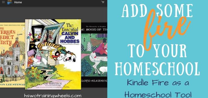 Have you considered getting your homeschool students Kindle Fire tablets? You might be surprised at they ways they can be used as tools in the homeschool!
