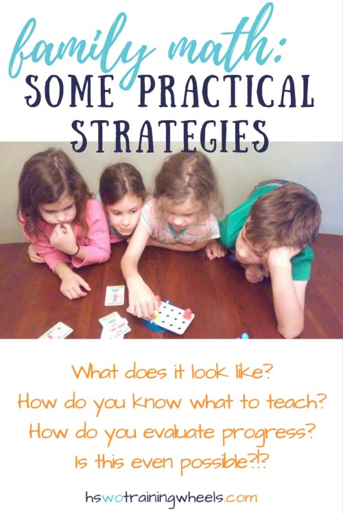 """Wouldn't it be great if you could teach everyone math together? Is that even possible? Find out more about how we do """"family math""""!"""