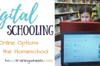 This month, we're talking all about online homeschool options - courses, resources, healthy tech use and ways to monitor and keep online time safe!
