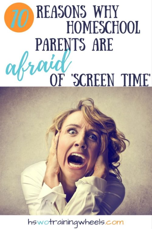 There are so many online resources for homeschool families. But many parents struggle with concerns about screen time. What are the reasons for the worry?