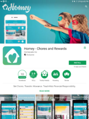 All families need to complete household chores. But what if you could extend chore time to a financial management learning experience? Try the Homey app!