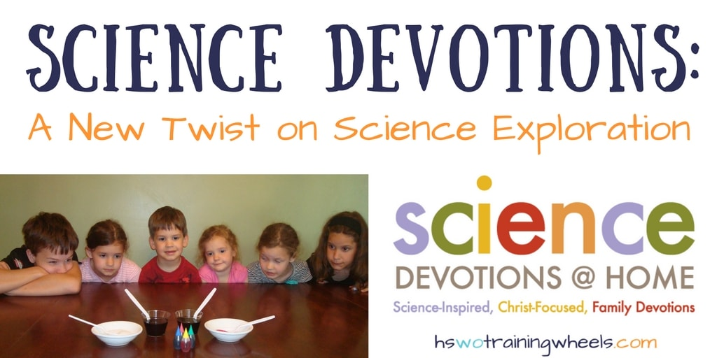 Science Devotions: A New Twist on Science Exploration